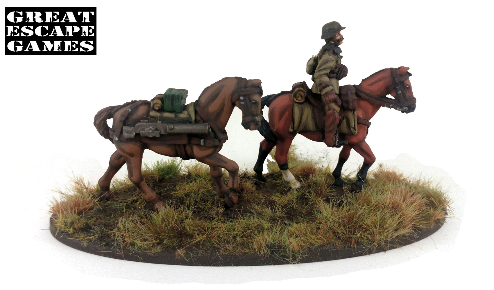 Pledge #5 Őrnagy (Major) - Hungarian Mounted plus Dismounted Huszár Troop (Great Escape Games) HUN255
