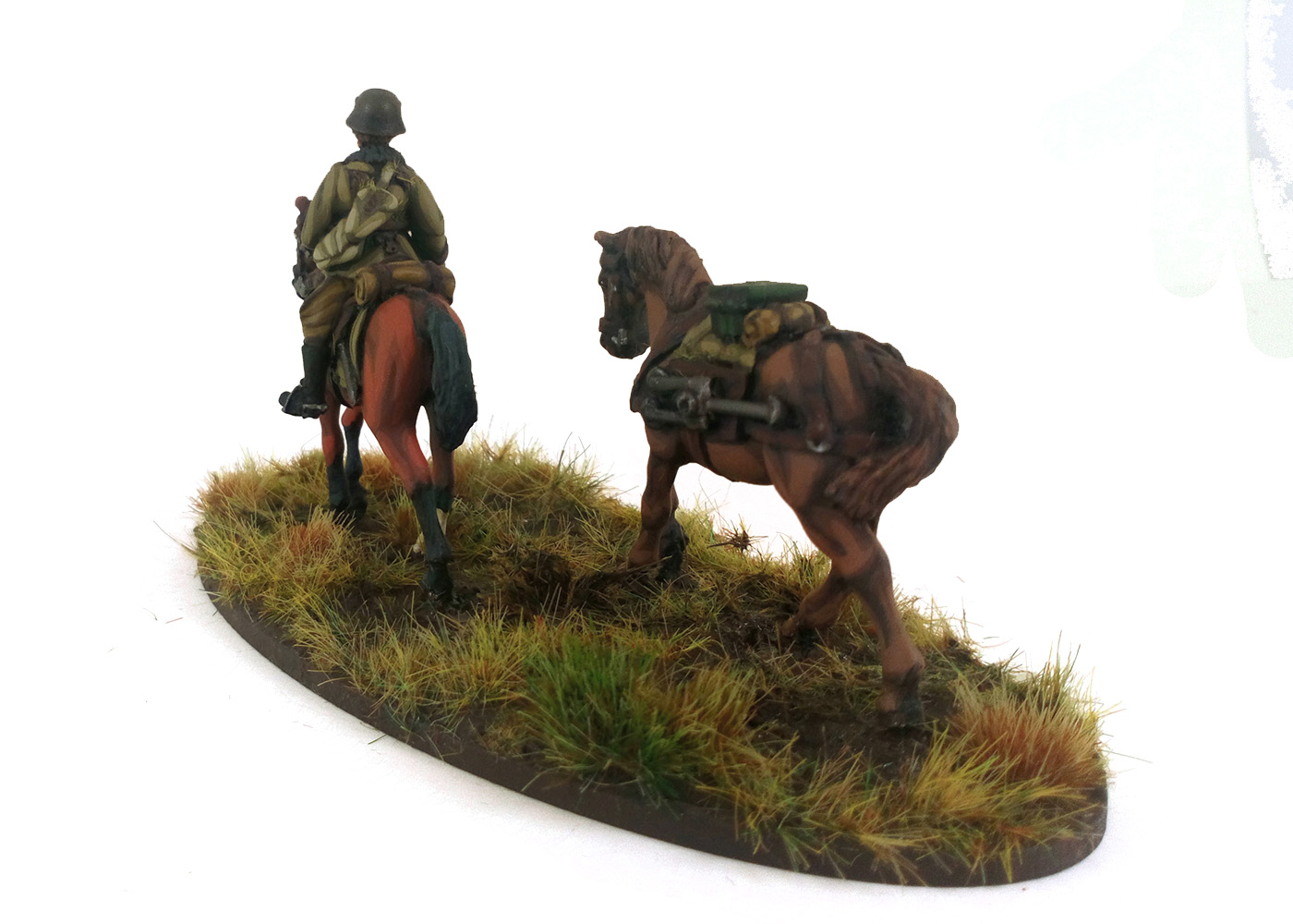Hungarian Mounted Huszár HMG (Great Escape Games) HUN205