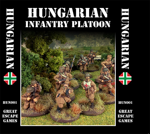 Hungarian Platoon - Summer Uniform (Great Escape Games) HUN002/3/4