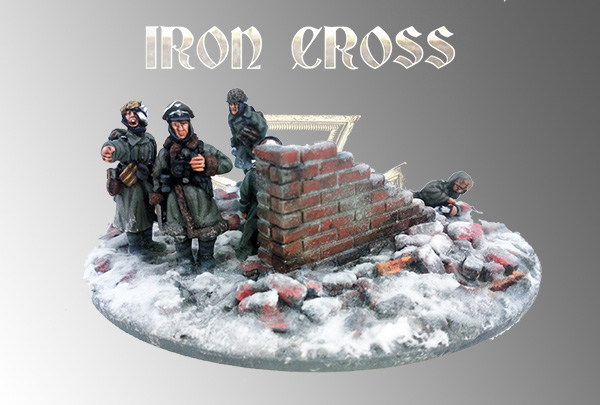 German Stalingrad Infantry Company (Iron Cross) Winter 28mm