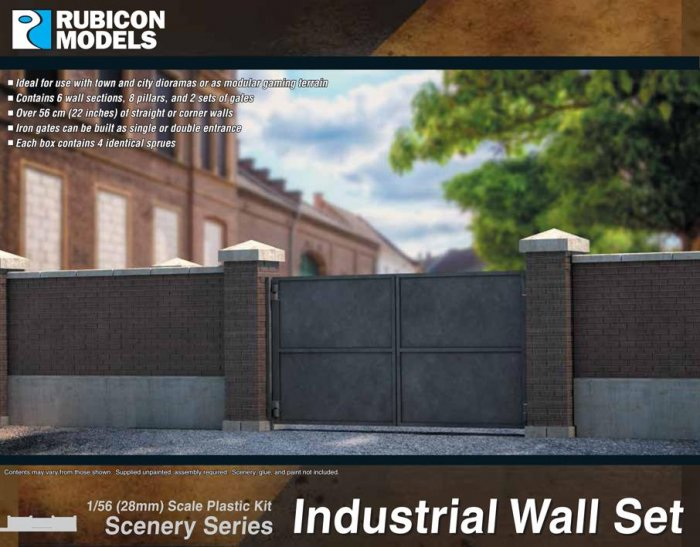 Industrial Wall Set (Rubicon Models)