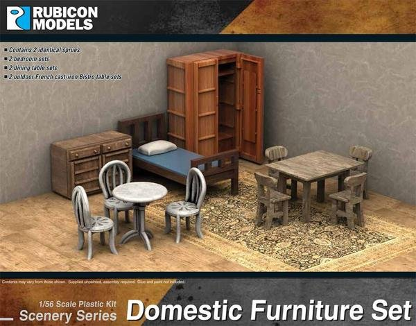 Domestic Furniture Set (Rubicon Models)