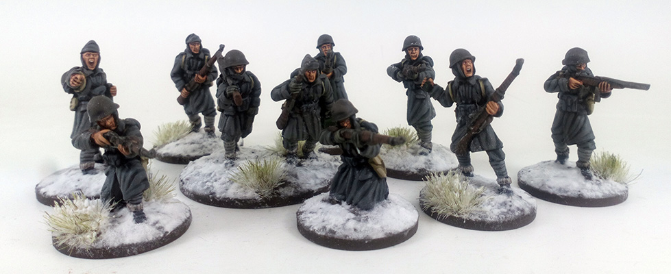 Italian Army Deal - Winter Uniform (Great Escape Games) ITA102/103x2/104x2/105/107/110/114
