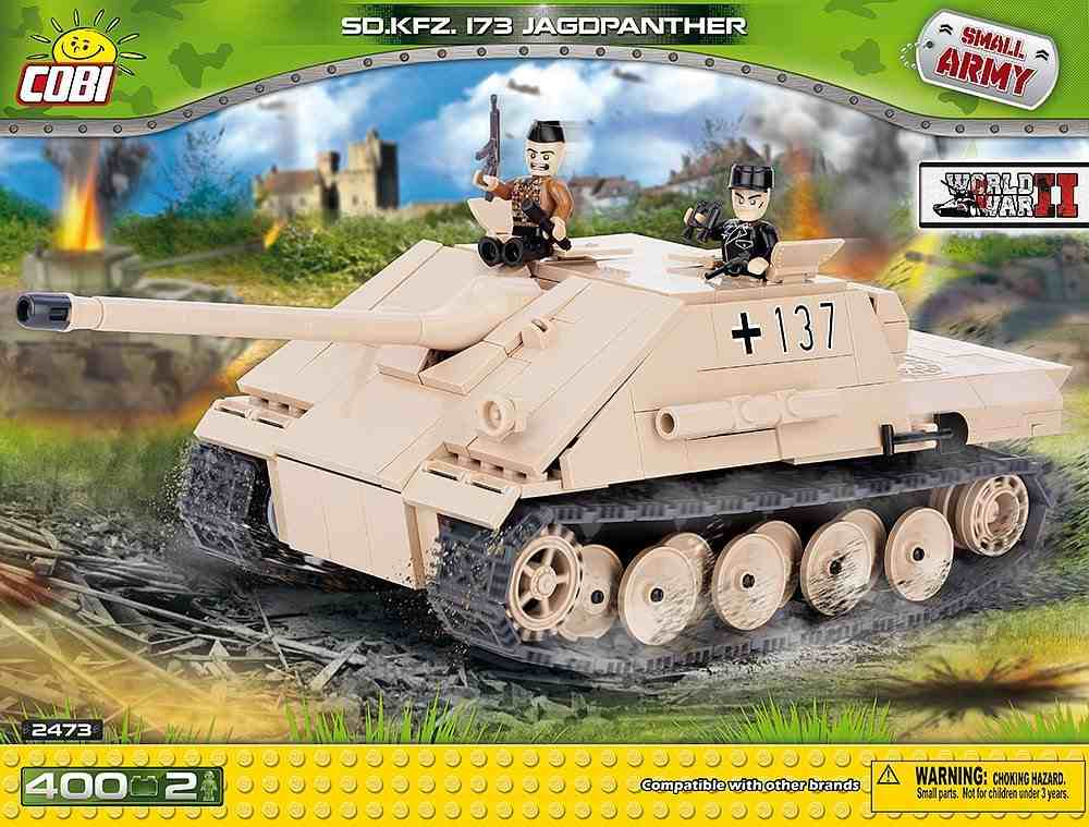 Jagdpanther Sd.Kfz.173 (2473) Cobi Small Army WWII