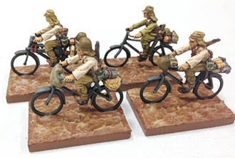 Bicycle Troops Cmd & Support(4) (Company B)