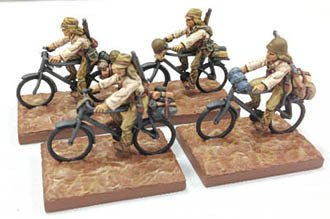 Bicycle Troops Rifles(4) (Company B)