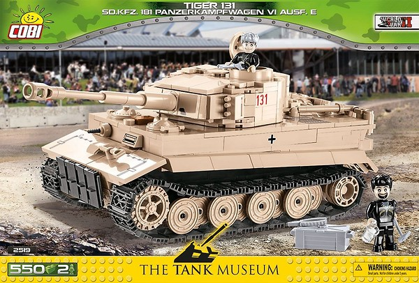 Tiger 131 (2519) Cobi Small Army WWII