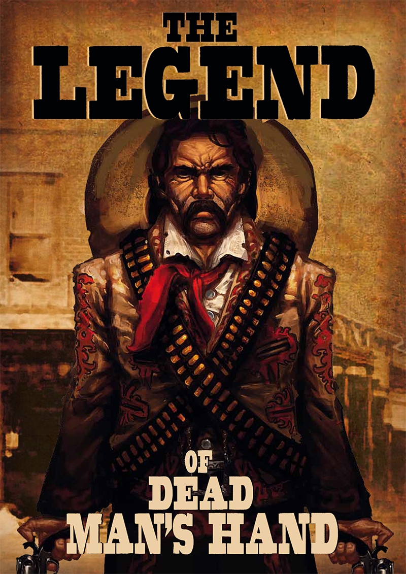 The Legend of Dead Man's Hand source book (includes LoDMH card deck)