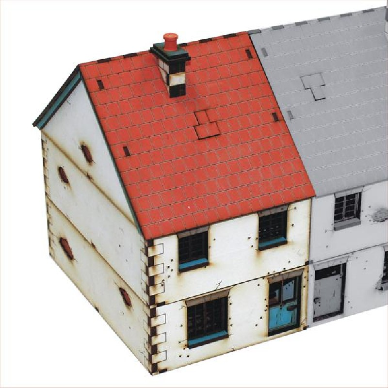 Pre-painted Left Side Semi-detached House 1 (4Ground)