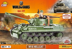 M18 Hellcat World of Tanks (3006) Cobi Small Army WWII