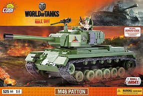 M46 Patton World of Tanks (3008) Cobi Small Army WWII
