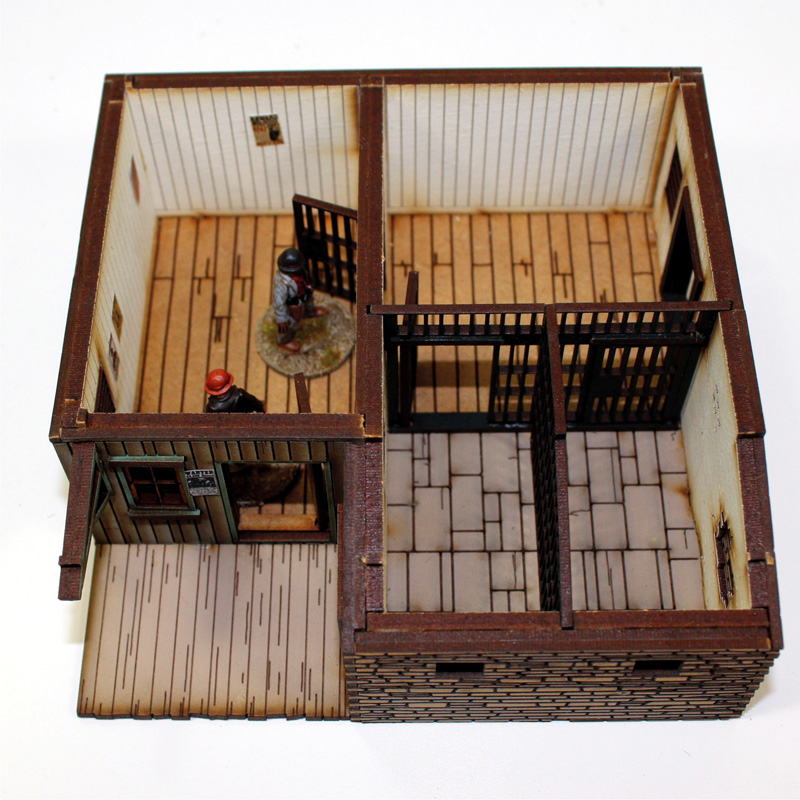 Dead Man's Hand  Pre-painted Marshal's Office