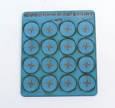 Seven Days Command Tokens - NATO
