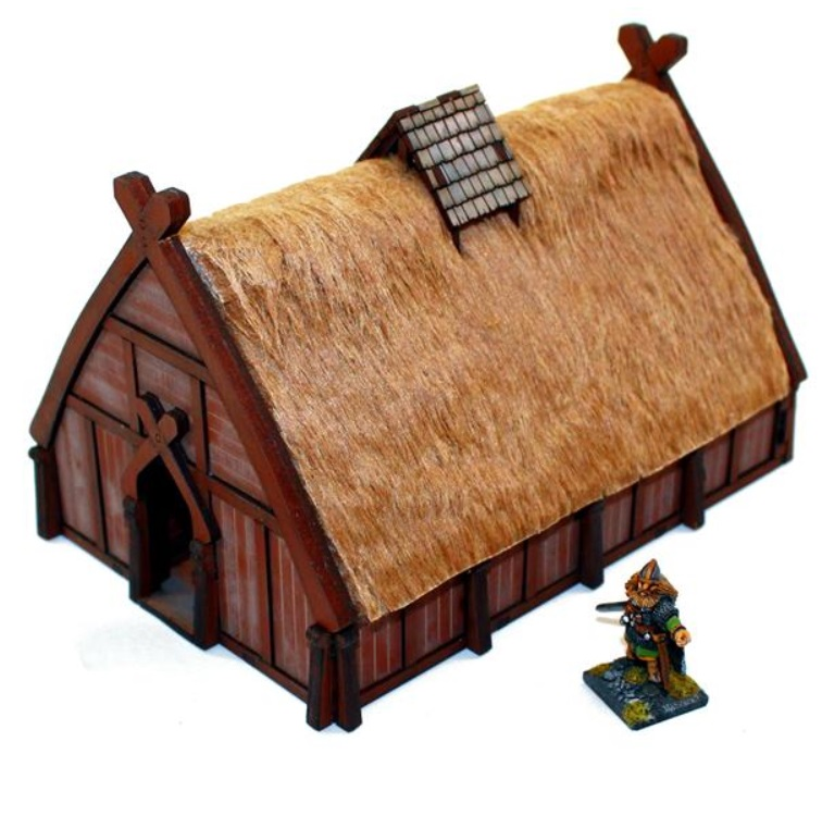 Pre-painted Norse Dwelling (4Ground)