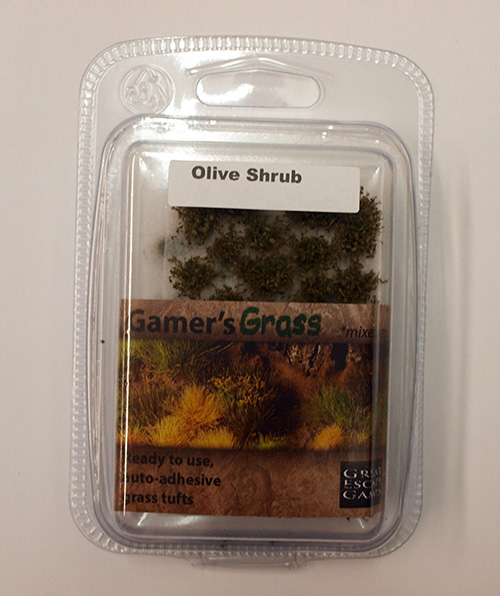 Dark Olive Shrubs (Gamer's Grass) Clamshell Pack