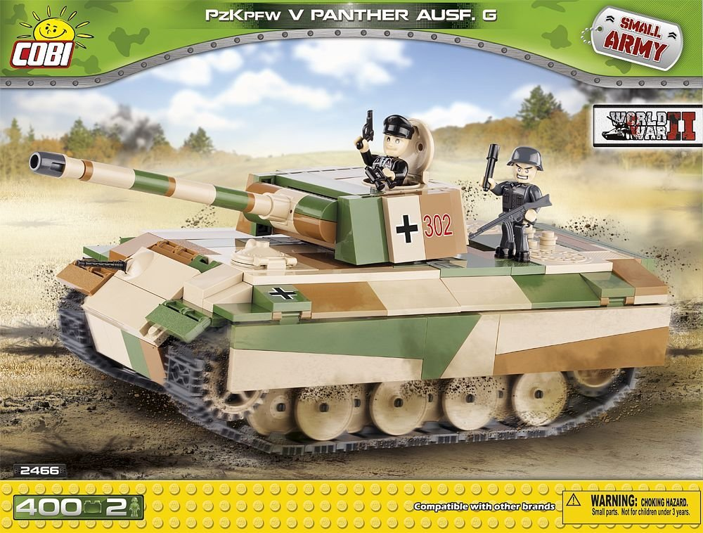Panther (2466) Cobi Small Army WWII