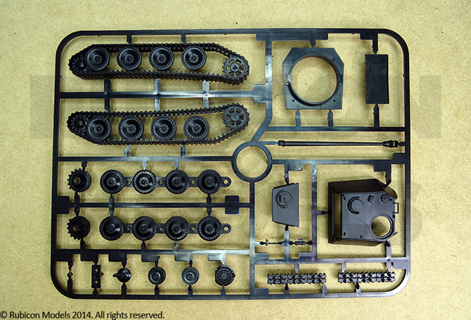 Panther Ausf. A/D Plastic Kit (Rubicon Models)
