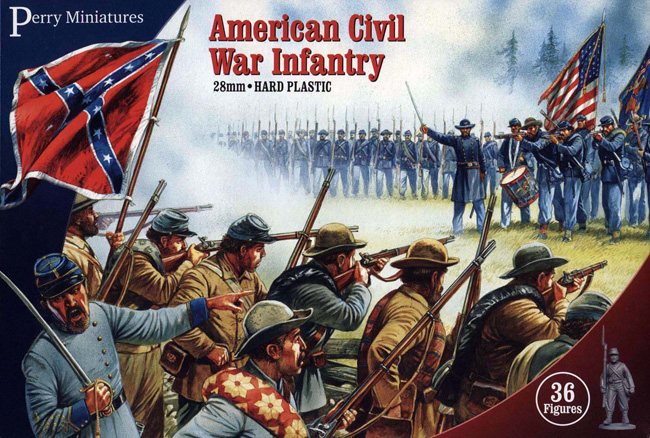 American Civil War Infantry (Perry)