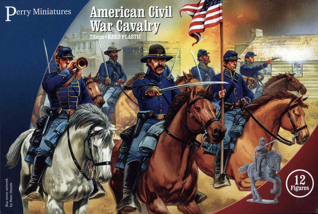 American Civil War Cavalry (Perry)