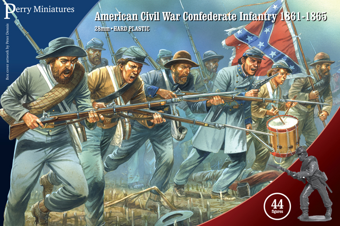 American Civil War Confederate Infantry 1861-65 (Perry)