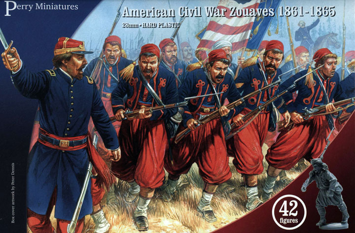 American Civil War Zouaves (Perry)
