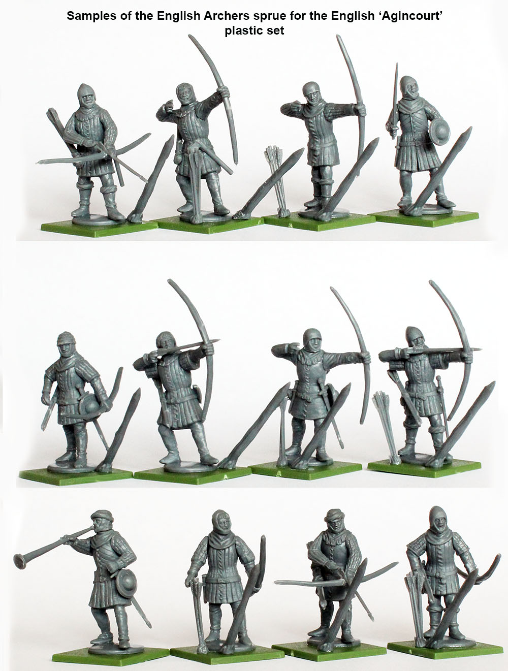 The English Army 1415-29 Agincourt to Orléans Plastic Box Set (Perry)