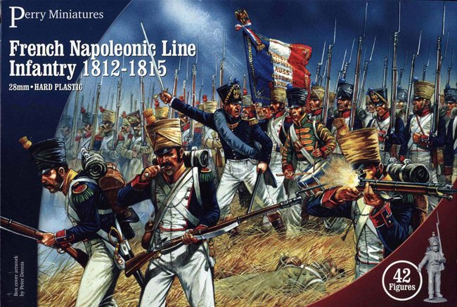 French Napoleonic Line or Light Infantry 1812-15 (Perry)