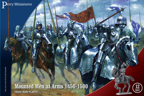 Mounted Men-at-Arms 1450-1500 Plastic Box Set (Perry)