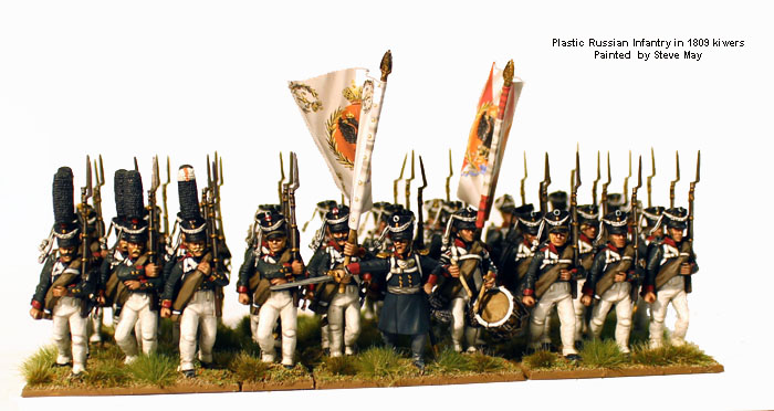 Russian Napoleonic Infantry 1809-14 (Perry)