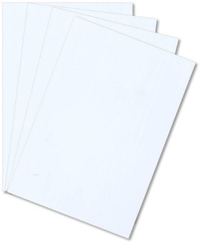 Plasticard Sheet White - 40/000 (1mm) thick