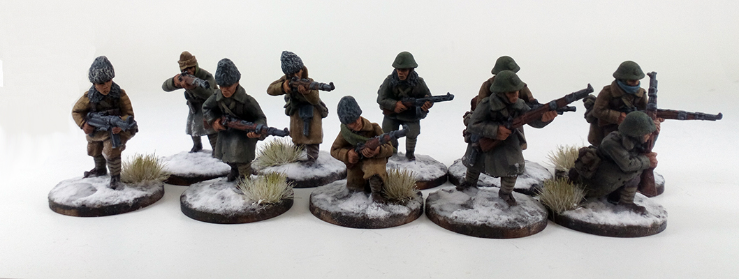 Romanian Supported Platoon - Winter Uniform (Great Escape Games) ROM102/103/104/105/106/107