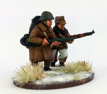 Romanian Flamethrower Team - Winter Uniform (Great Escape Games)