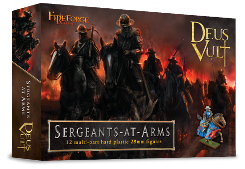 Mounted Sergeants-at-Arms Plastic Box Set (Fireforge)