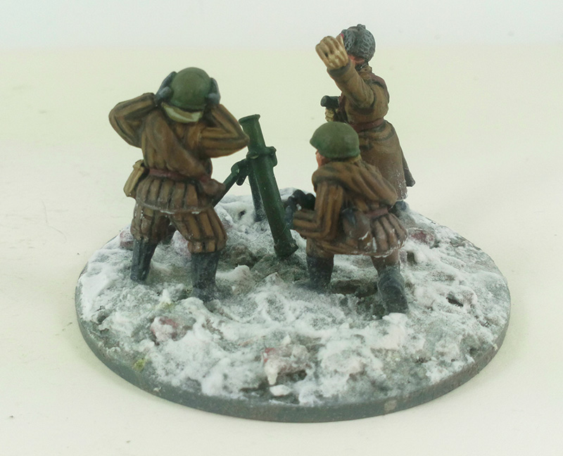 Soviet Stalingrad Veteran 82mm Mortar - Winter Uniform (Great Escape Games)
