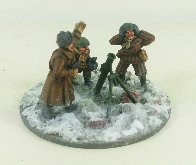 Soviet Veteran Infantry (Winter) Army Builder (Great Escape Games)