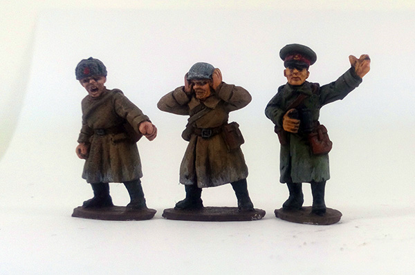 Soviet Anti-tank Gun Crew - Winter Uniform (Great Escape Games)