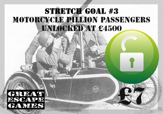 Stretch Goal 18 - Danish Nimbus Motorcycle AA Crew (Great Escape Games)