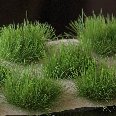 Strong Green XL 12mm Grass Tufts (Gamer's Grass) Clamshell Pack