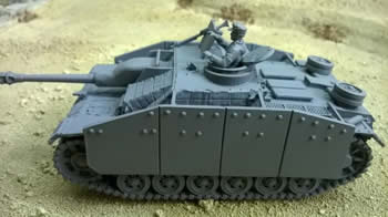 StuG III Ausf. G 28mm in Zimmerit (Blitzkrieg Miniatures)