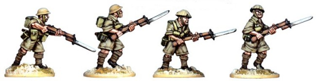 British 8th Army Riflemen I (Artizan Designs)