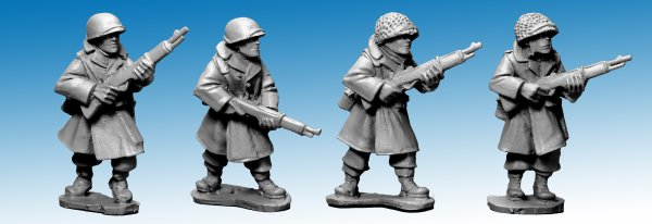 US Infantry in Greatcoats with Rifles (Artizan Designs)
