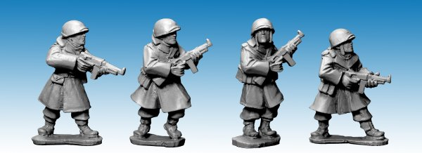 US Infantry in Greatcoats w S.M.G's (Artizan Designs)