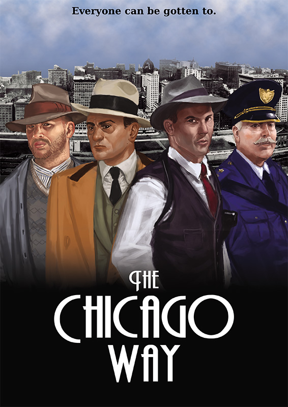 The Chicago Way Rule Book (includes TCW card deck and game markers)
