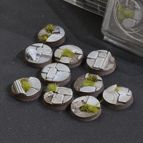 Temple Bases Round 25mm (Gamer's Grass)