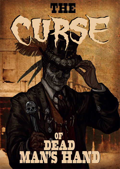The Curse of Dead Man's Hand source book (includes CoDMH card deck)