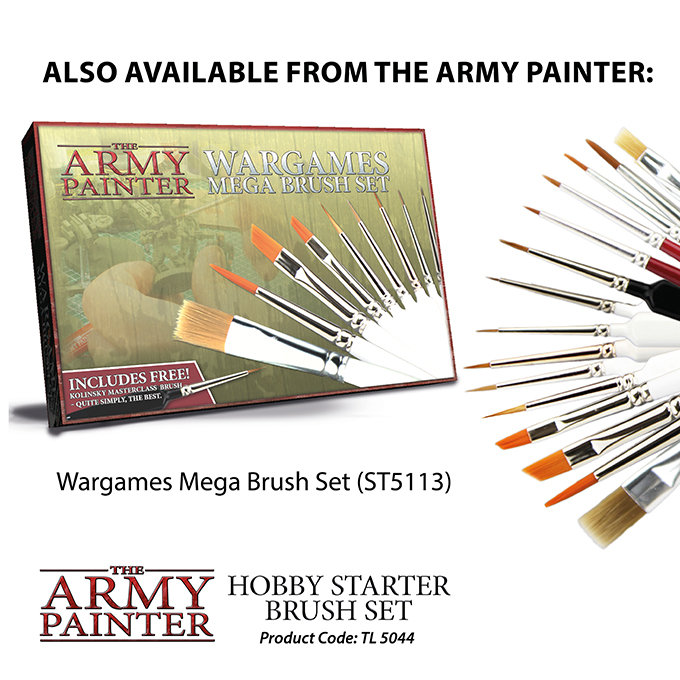 Hobby Starter Brush Set (Army Painter)