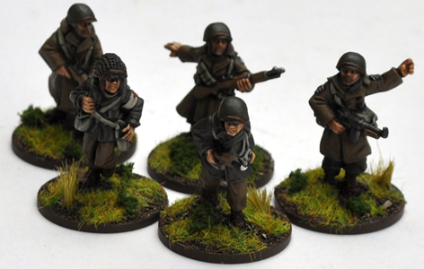 US Infantry Command Squad