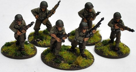 US Infantry Company (Iron Cross) 28mm