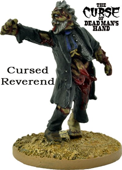 The Curse of Dead Man's Hand - Cursed Reverend