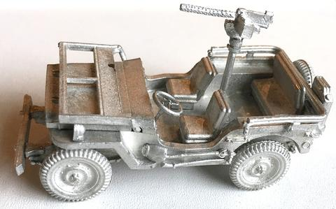US Willy's Jeep basic model (Company B)
